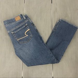 American eagle jeans artist cropped stretch size 6